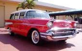 1957 Chevrolet Two-Ten Townsman var en praktisk familjevagn till överkomligt pris.