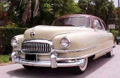 1951 Nash Ambassador Custom 4dr Sedan.