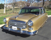 1952 Nash Statesman Custom anpassades även i övrigt till samtida mode med bland annat svallande grill med glittrande krom!