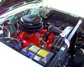 Denna nya V8 på 283 cu.in. introducerades med 1957 års modell. Motorn erbjöds i flera olika versioner.