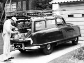 1952 Nash Rambler Greenbriar Station Wagon var något enklare och riktade sig till småföretagare som ett kombinerat arbets- och fritidsfordon.