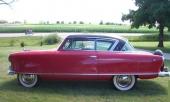 Det var i juni 1951 som Nash också kompletterade Rambler med sin attraktiva Country Club hardtop. På bilden en Country Club av 1953 års modell.