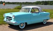 Detta är 1957 års modell, den sista Metropolitan som hette Nash. Från och med 1958 fick bilen ny front och Metropolitan blev ett fristående bilmärke.