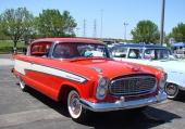 En superb 1957 Nash Ambassador Custom Country Club, som alltså innebär 2dr hardtop.